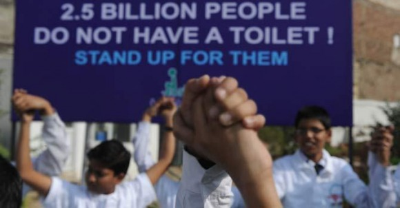 Students Take World Toilet Day Seriously