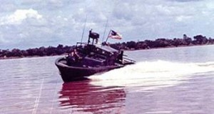 River Patrol Boats on the Mekong River.