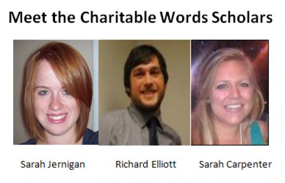 Charitable Words Scholars On The Job